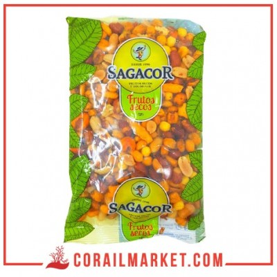 mélange de fruits secs sagacor 250 g