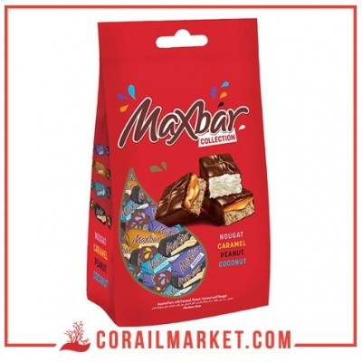 Bonbons chocolats collection max bar 142 g