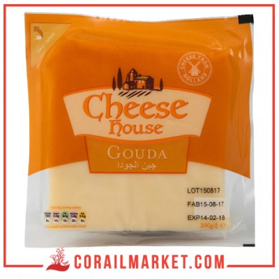 Fromage gouda cheese house 200 g