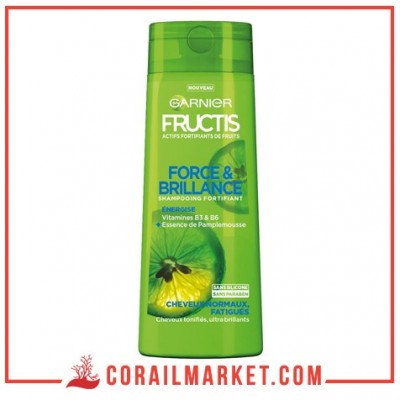 Shampooing Force & Brillance FRUCTIS 250 ml
