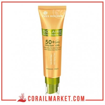Crème solaire , anti -âge 50+Yves rocher 40 ml