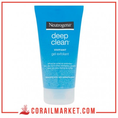 gel exfoliant deep clean neutrogena 150 ML