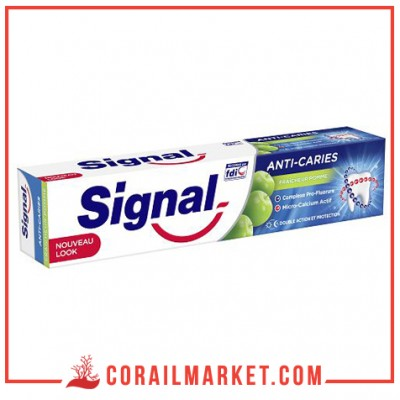 Dentifrice anti-caries pomme Signal 50 ml