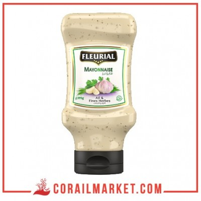 Mayonnaise Ail et fines herbes fleurial 335 g