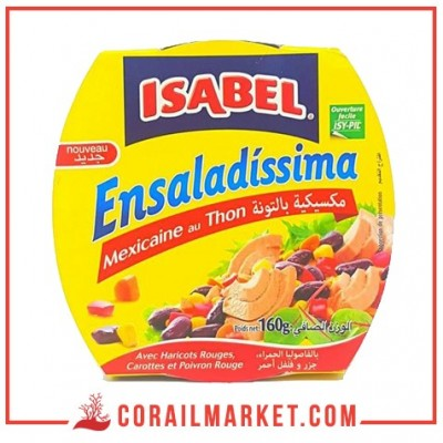 Salade ISABEL mexicaine au thon 160g