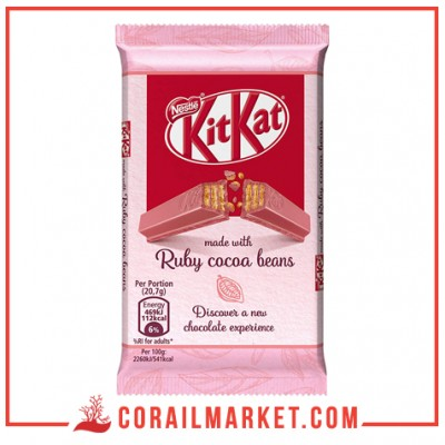 Chocolat aux fèves de cacao ruby KIT KAT 124 g
