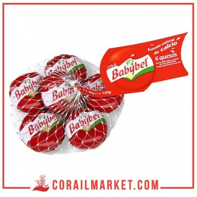 Fromage mini babybel 6 pièces 120 g